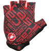 Castelli Adesivo fietshandschoenen Heren rood/zwart